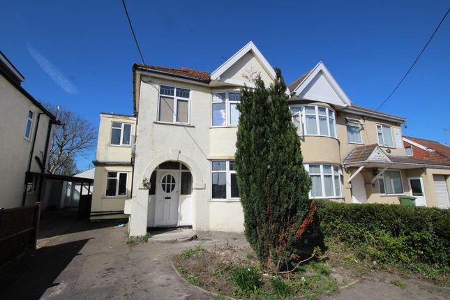 Thumbnail Semi-detached house to rent in Gloucester Road, Patchway, Bristol