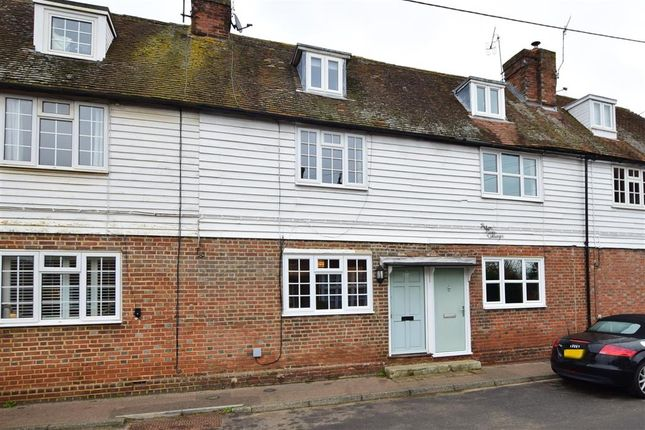2 bed terraced house for sale in Vicarage Road, Yalding, Maidstone, Kent ME18