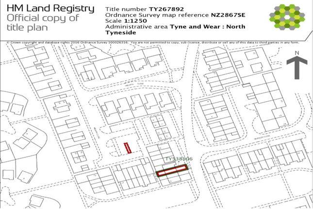 Land for sale in Welwyn Close, Wallsend