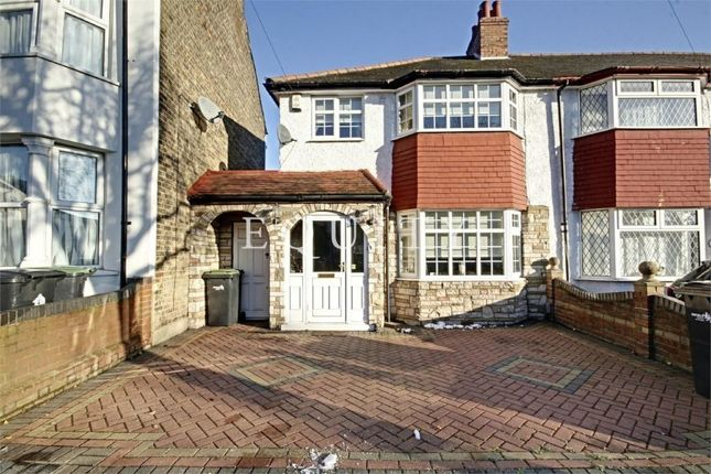 Thumbnail End terrace house for sale in Cuckoo Hall Lane, Edmonton