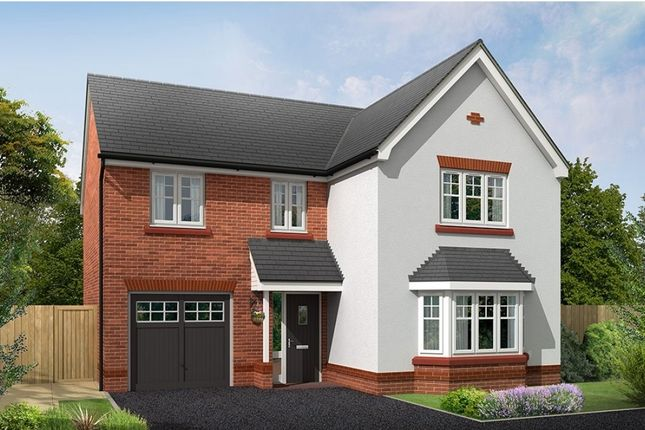 """Thumbnail Detached house for sale in """"Bordesley"""" at Croxton Lane, Middlewich"""