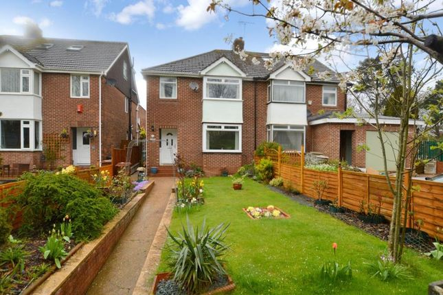 Thumbnail Semi-detached house for sale in Honiton Road, Heavitree, Exeter, Devon