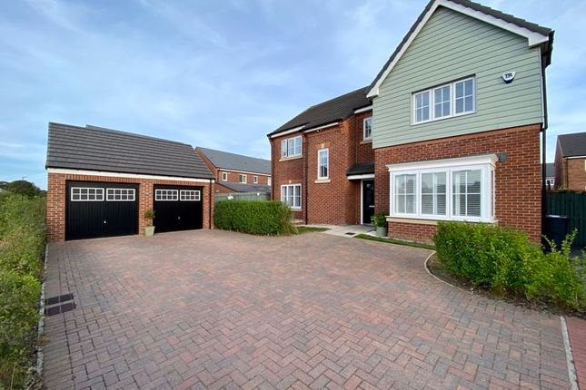 Thumbnail Detached house for sale in Mill View, Backworth, Newcastle Upon Tyne