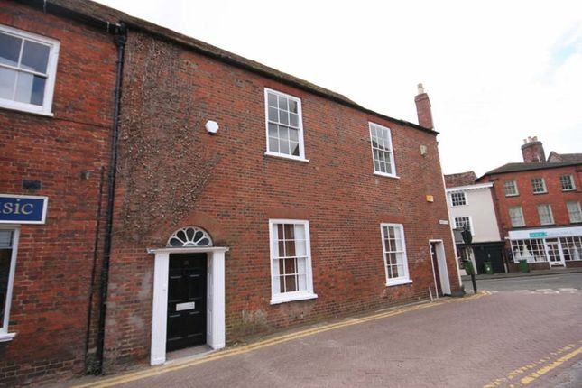 Thumbnail Terraced house to rent in Market Hill, Buckingham