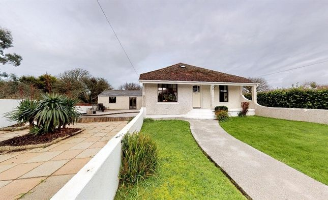 Thumbnail Detached bungalow for sale in Goldsithney, Penzance, Cornwall