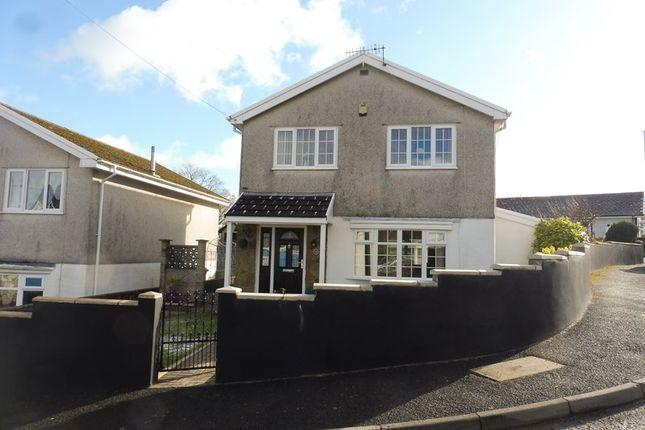 Thumbnail Detached house for sale in Beechwood Drive, Heolgerrig, Merthyr Tydfil