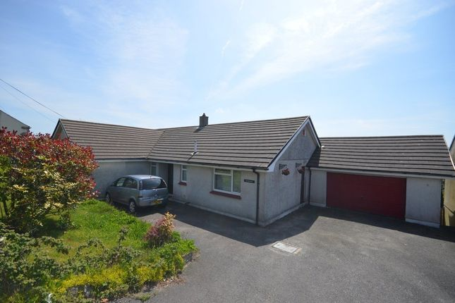 Thumbnail Detached bungalow for sale in Pennance Road, Lanner, Redruth