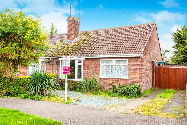 Thumbnail Detached bungalow for sale in Alfred Street, Stanwick, Wellingborough