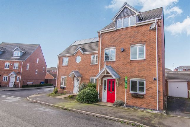 Thumbnail Semi-detached house for sale in Valley Drive, Wilnecote, Tamworth
