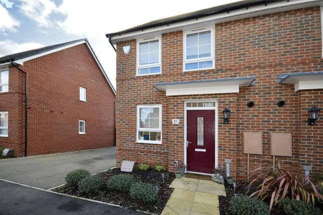 Thumbnail Semi-detached house for sale in Grimsthorpe Avenue, Barton Seagrave, Kettering, Northamptonshire