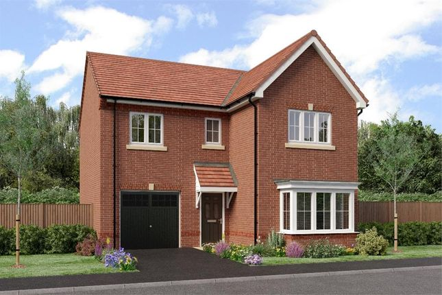 "Thumbnail Detached house for sale in ""The Seeger"" at Netherton Colliery, Bedlington"