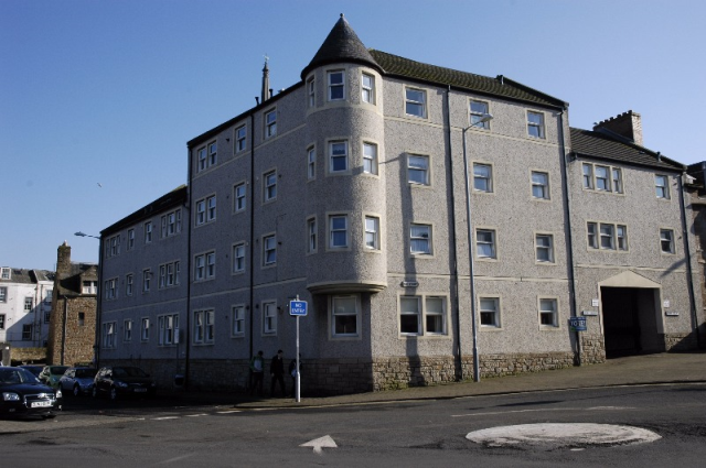 Thumbnail Flat to rent in Fort Court, Ayr, South Ayrshire, 1Jd