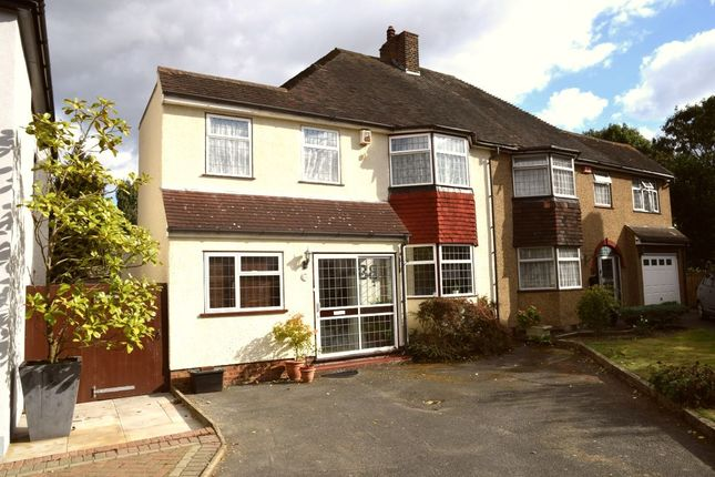 Thumbnail Semi-detached house for sale in Roseberry Gardens, Dartford