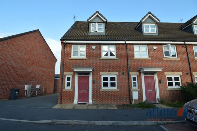 Thumbnail Town house to rent in Aldfield Green, Hamilton, Leicester