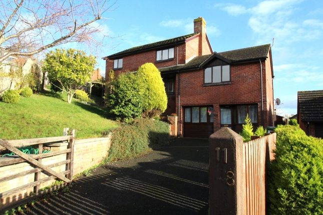 Thumbnail Detached house to rent in Valley Park Close, Exeter