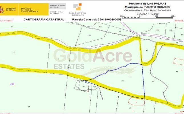 Thumbnail Land for sale in El Matorral, El Matorral, Canary Islands, Spain