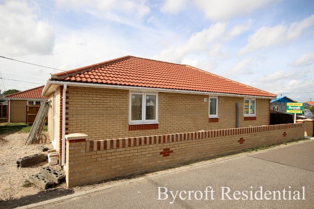 Thumbnail Detached bungalow for sale in The Glebe, Hemsby, Great Yarmouth