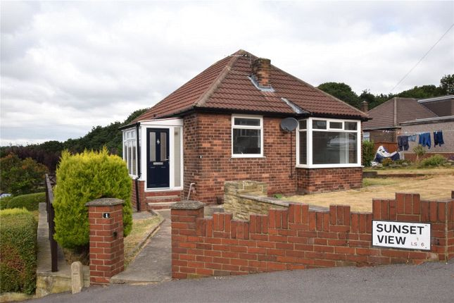 Thumbnail Detached bungalow to rent in Sunset View, Leeds, West Yorkshire