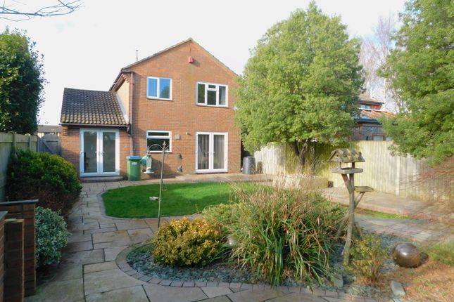 Thumbnail Detached house to rent in Shrubbery Close, Fareham