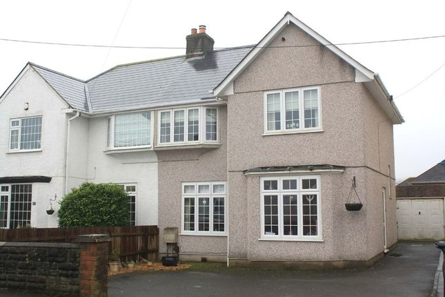 Thumbnail Semi-detached house for sale in Plymstock Road, Plymstock, Plymouth