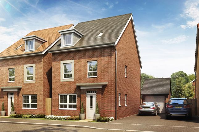 "Thumbnail Detached house for sale in ""Fircroft"" at Prior Deram Walk, Coventry"