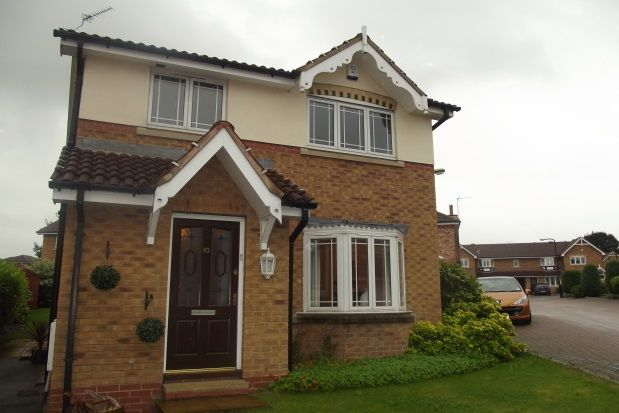 Thumbnail Detached house to rent in Swallow Wood Close, Treeton, Rotherham