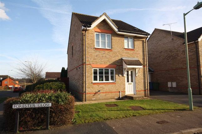3 bed link-detached house for sale in Forester Close, Pinewood, Ipswich