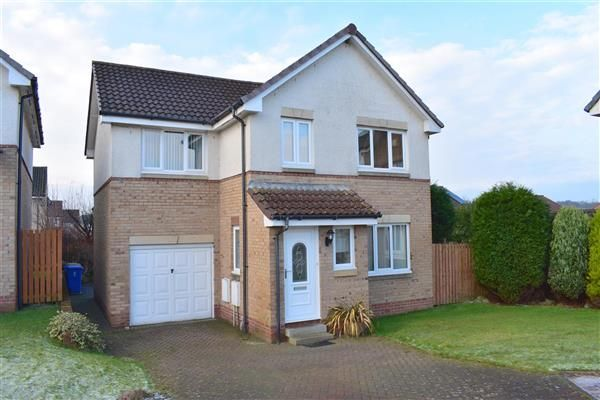 Thumbnail Detached house to rent in Moncur Court, Kilwinning