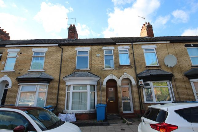 Thumbnail Terraced house to rent in Newland Avenue, Hull
