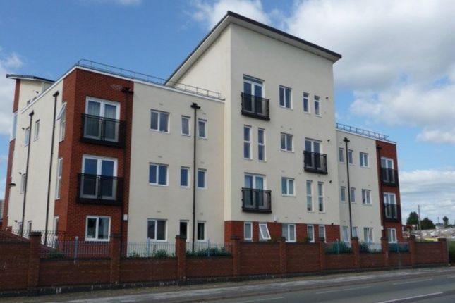 Thumbnail Flat to rent in Wilton Court, Hanley, Stoke-On-Trent