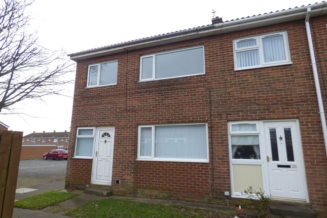 Thumbnail Terraced house to rent in Norwich Close, Ashington