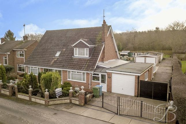 Thumbnail Detached house for sale in Northfield Avenue, Pleasley Vale, Mansfield