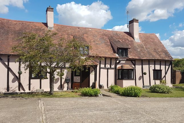 Thumbnail Detached house for sale in Coggeshall Road, Marks Tey, Colchester