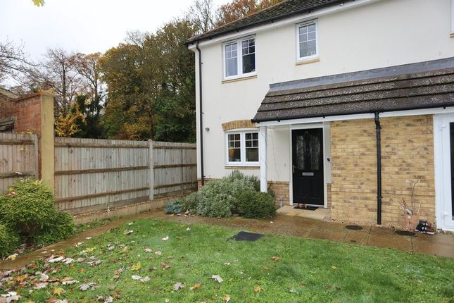 Thumbnail End terrace house to rent in Badgers Rise, Woodley, Reading