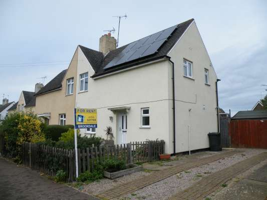 Thumbnail Semi-detached house to rent in Fulbridge Road, Werrington, Peterborough