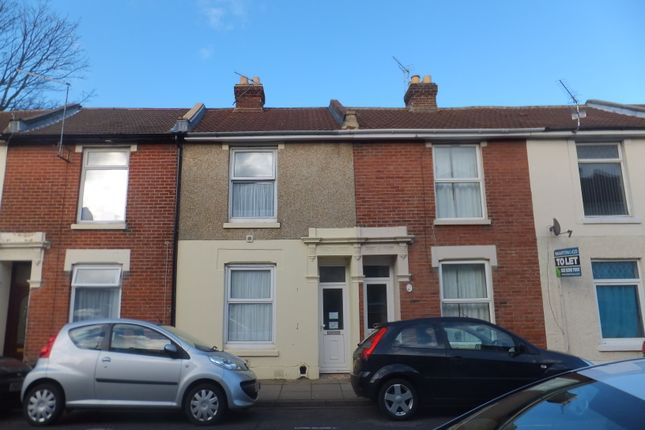Thumbnail Terraced house to rent in Telephone Road, Southsea