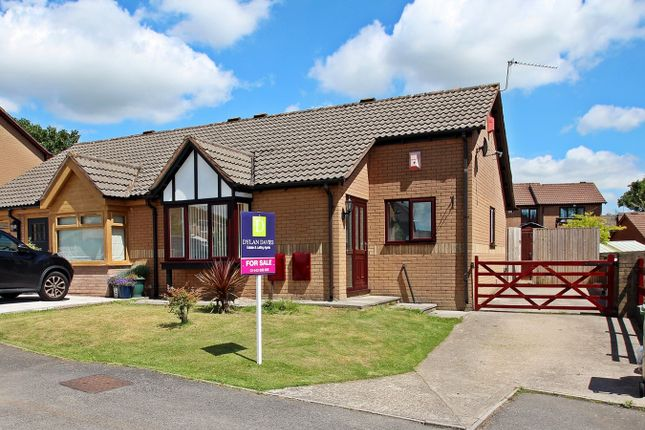 Thumbnail Semi-detached bungalow for sale in Lilac Drive, Llantwit Fardre, Pontypridd