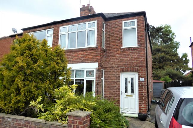 Thumbnail Semi-detached house for sale in Lilac Avenue, York