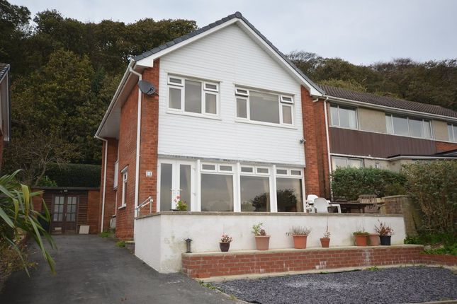 Thumbnail Detached house for sale in Danycoed, Aberystwyth, Ceredigion