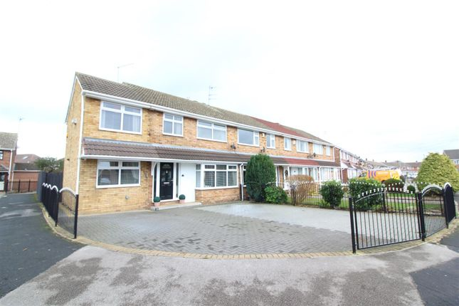 Thumbnail End terrace house for sale in Glenwood Close, Hull