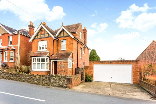 Thumbnail Detached house for sale in Farncombe Hill, Godalming, Surrey