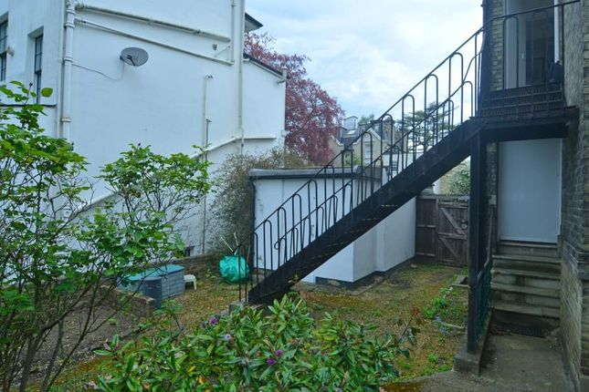 Side Stairs of Hampstead Lane, Highgate Village, London N6