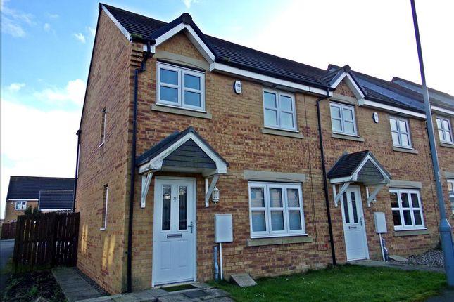 Thumbnail Terraced house to rent in Brackenridge, Shotton Colliery, Durham