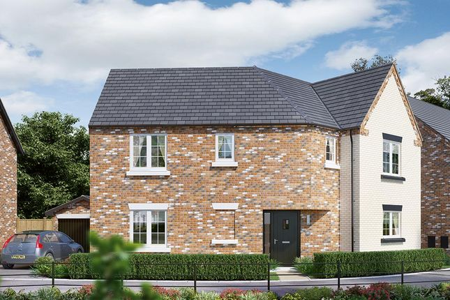 "Thumbnail Detached house for sale in ""The Oldbury"" at Dark Lane, Whatton, Nottingham"