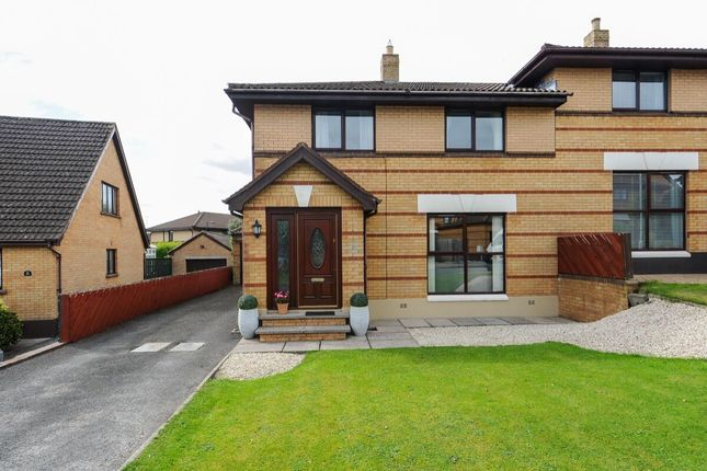 Thumbnail Semi-detached house for sale in Old Mill Rise, Dundonald, Belfast