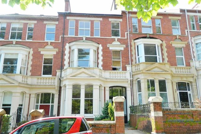 Thumbnail Terraced house for sale in St. James Gardens, Swansea
