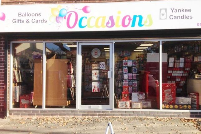 Thumbnail Retail premises for sale in 302 Clarence Road, Sutton Coldfield