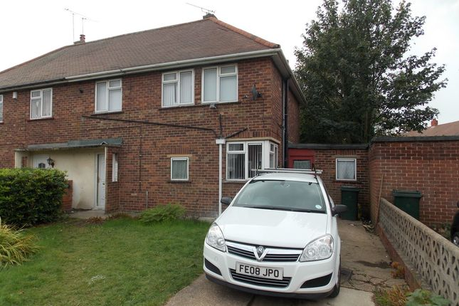 Thumbnail Semi-detached house to rent in Montrose Avenue, Intake, Doncaster