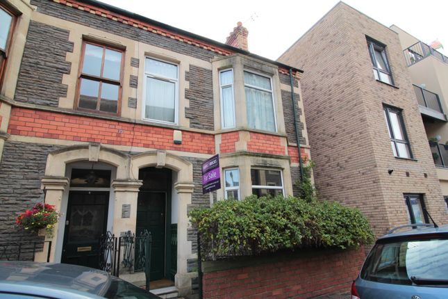 Thumbnail End terrace house for sale in Market Road, Canton
