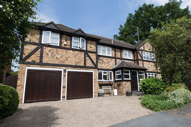Thumbnail Detached house for sale in Leycester Close, Windlesham